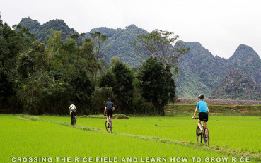 Phong Nha villages cycling