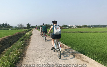 Hoi An organic farm: cycling and cooking